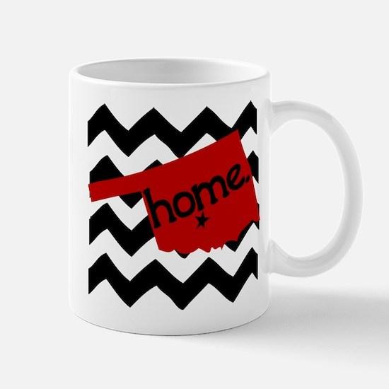 Oklahoma HOME State Crimson Mug