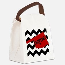 Oklahoma HOME State Crimson Canvas Lunch Bag