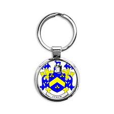 LYNCH Round Keychain