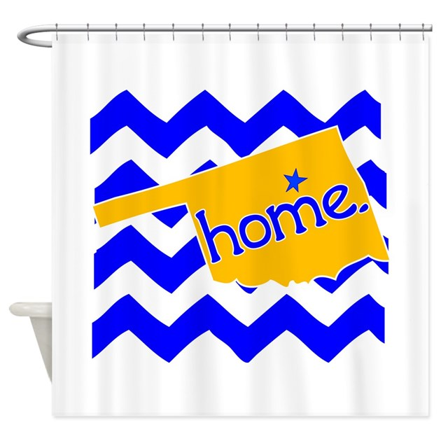 Oklahoma Home State Tulsa Tee Shower Curtain By