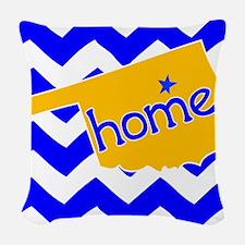 Oklahoma HOME State Tulsa Tee Woven Throw Pillow