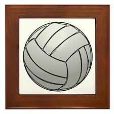 Volleyball Framed Tile