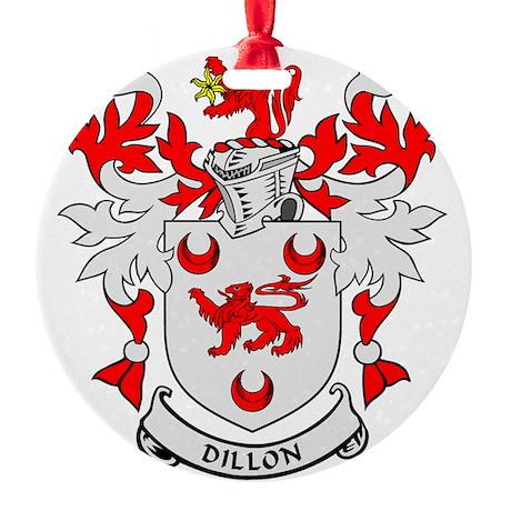 DILLON Round Ornament