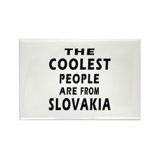 The Coolest Slovakia Designs Rectangle Magnet