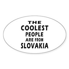 The Coolest Slovakia Designs Decal