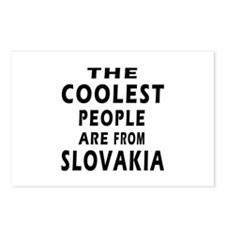 The Coolest Slovakia Designs Postcards (Package of