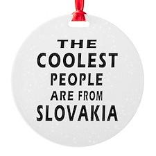 The Coolest Slovakia Designs Ornament