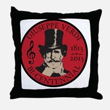 Giuseppe Verdi Throw Pillow