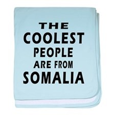 The Coolest Somalia Designs baby blanket