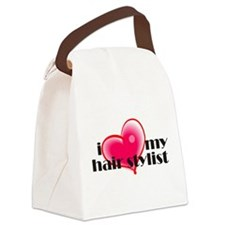 I Love My Hair Stylist! Canvas Lunch Bag