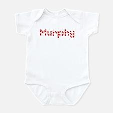 Murphy - Candy Cane Infant Bodysuit