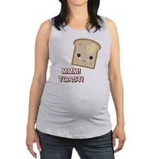 mmm toast.png Maternity Tank Top