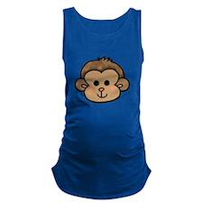 cute little monkey face Maternity Tank Top