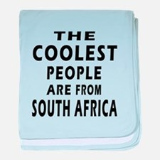 The Coolest South Africa Designs baby blanket