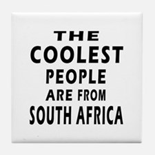 The Coolest South Africa Designs Tile Coaster
