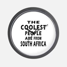The Coolest South Africa Designs Wall Clock