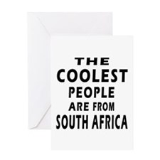The Coolest South Africa Designs Greeting Card