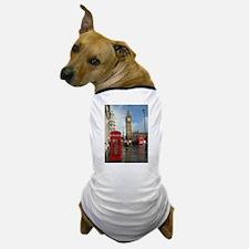 London phone box Dog T-Shirt