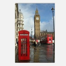 London phone box Postcards (Package of 8)