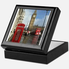 London phone box Keepsake Box