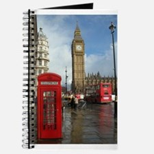 London phone box Journal