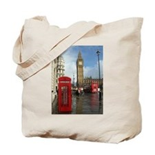 London phone box Tote Bag