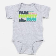Run Mommy Run - Shoe - Baby Bodysuit