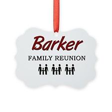 3-Barker Ornament