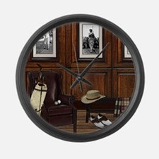 Country Club Large Wall Clock