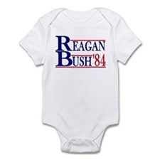 Reagan Bush '84 Onesie