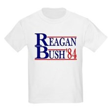 Reagan Bush '84 Kids T-Shirt