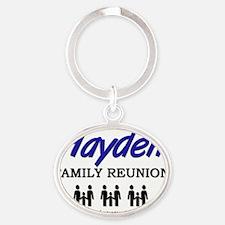 Hayden Oval Keychain
