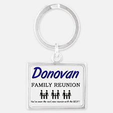 Donovan Landscape Keychain