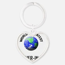 BROTHER-IN-LAW Heart Keychain