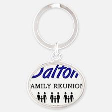 Dalton Oval Keychain