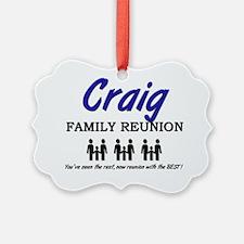 Craig Ornament