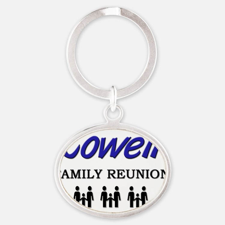 Cowell Oval Keychain