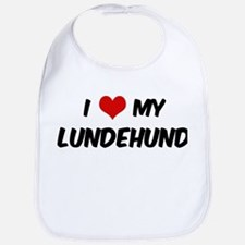 I Love: Lundehund Bib