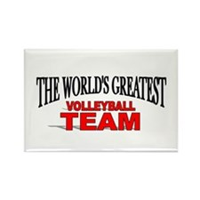 """""""The World's Greatest Volleyball Team"""" Rectangle M"""