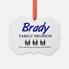 Brady Ornament