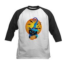 Blue Witch Kitty Baseball Jersey