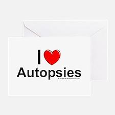Autopsies Greeting Card