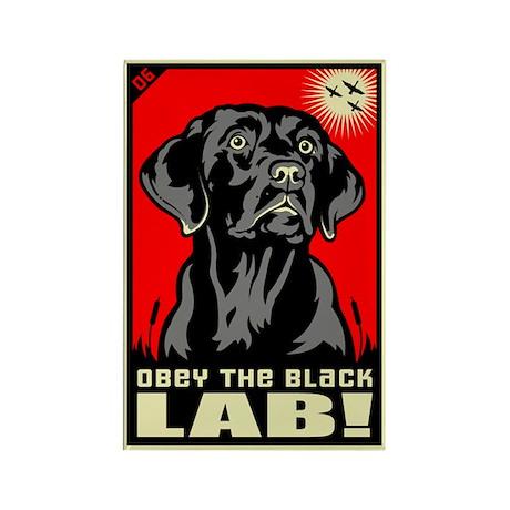 Obey the Black Lab! 06 Propaganda Magnet