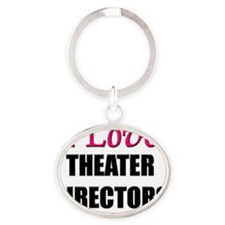 THEATER-DIRECTORS13 Oval Keychain