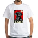 Obey the Black Lab! 06 White T-shirt