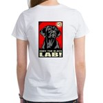 Obey the Black Lab! 06 Women's T-Shirt