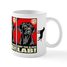 Obey the Black Lab! 06 Propaganda Mug
