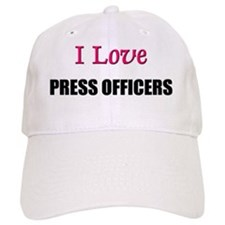 PRESS-OFFICERS16 Baseball Cap