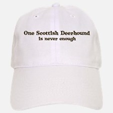 One Scottish Deerhound Baseball Baseball Cap