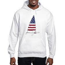 American Dinghy Sailing Hoodie